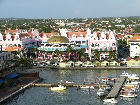 Paakaupunki Aruba Kartta Valokuva Mika On Paaoman Aruba