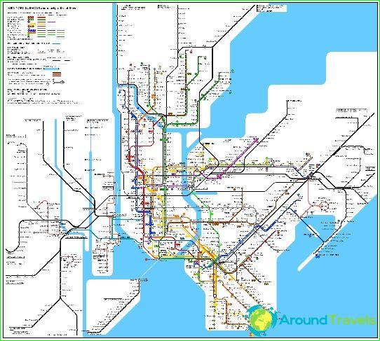 New York City Subway Diagram Beskrivelse Fotos Subway Kort