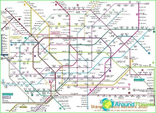 Shanghai Metro Map 2016.Shanghai Metro Diagram Description Photos Map Of Shanghai Metro
