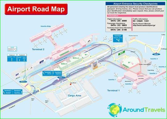 Dubai Airport - Dubai: Diagramm Foto. Wie man den Flughafen Dubai zu on