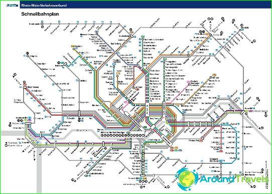 Metro Frankfurt Diagrama Descriere Fotografii Metrou Harta