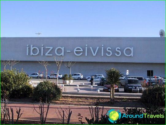 Aeroporto Ibiza : Aeroporto ibiza schema di foto come arrivare a