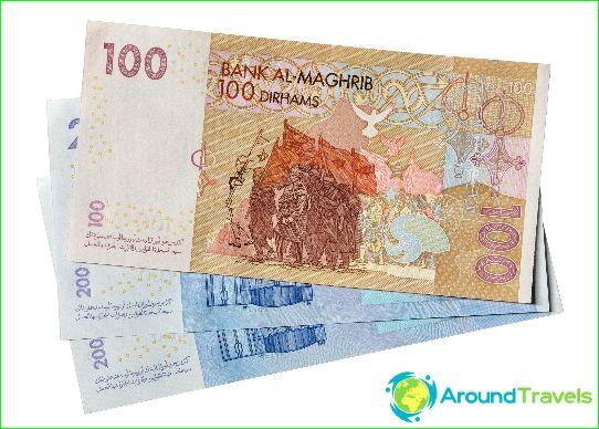 marokkanske dirham til danske kroner