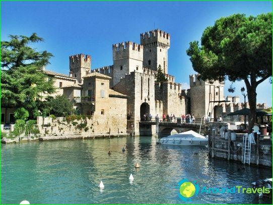 Maakunnassa Italia Kuvia Kartta Italian Alueille