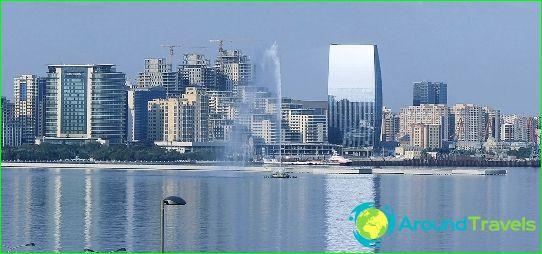 Hovedstaden I Aserbajdsjan Kort Foto Hvad Er Hovedstaden I