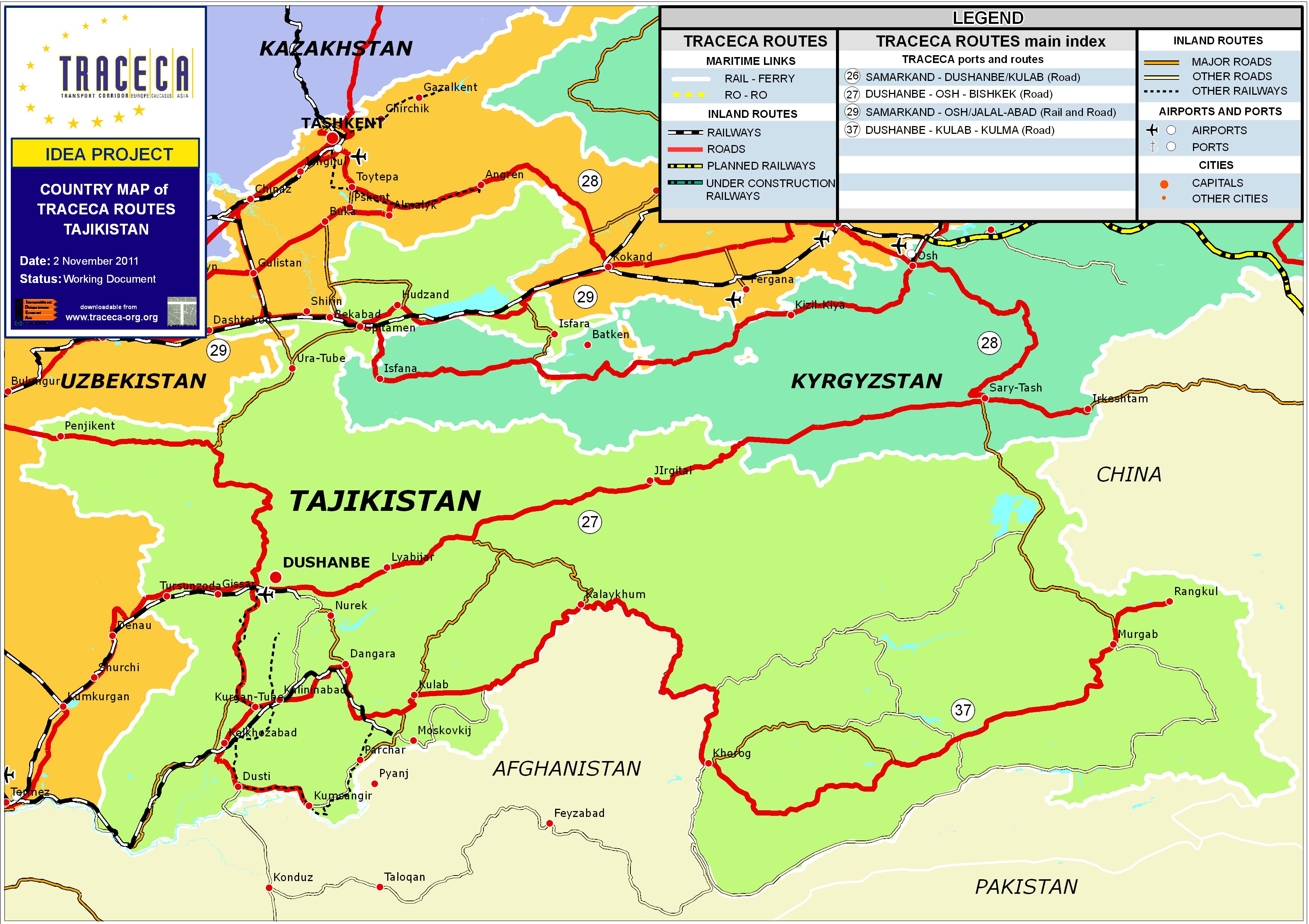 Tajik Rautatiet Kartta Sivusto Kuvat