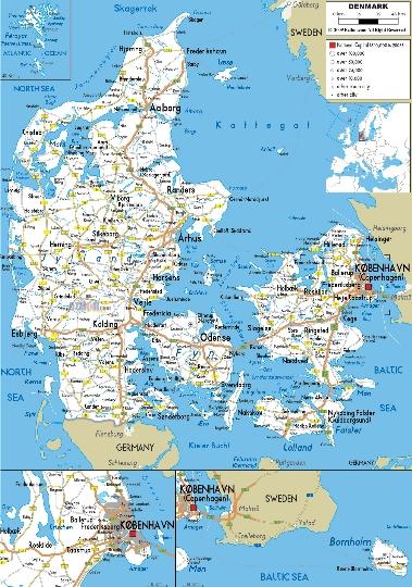 Rautateiden Tanska Kartta Verkkosivusto Valokuvia