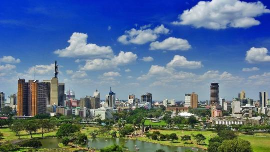 hovedstaden i kenya